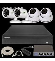 IP Комплект Відеоспостереження GV-ІР-К-L27/04 1080 P
